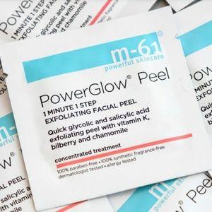 PowerGlowPeel glycolic & salicylic acid facial wip